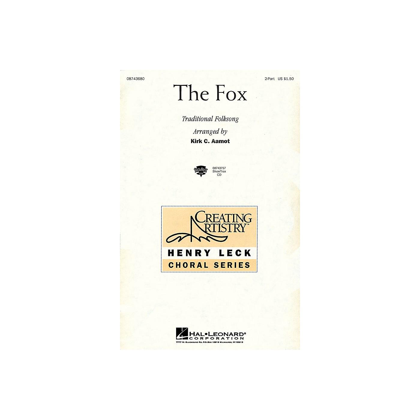 Hal Leonard The Fox 2-Part arranged by Kirk Aamot thumbnail