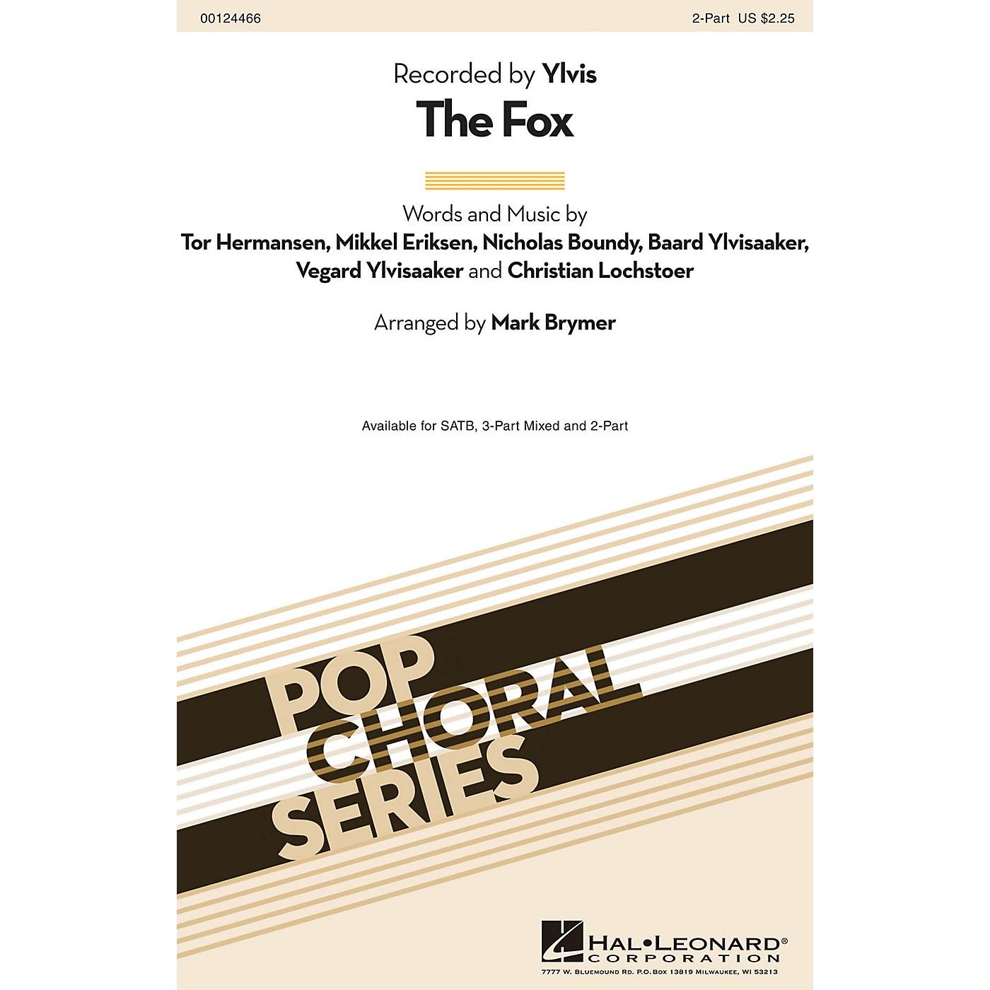 Hal Leonard The Fox 2-Part by Ylvis arranged by Mark Brymer thumbnail