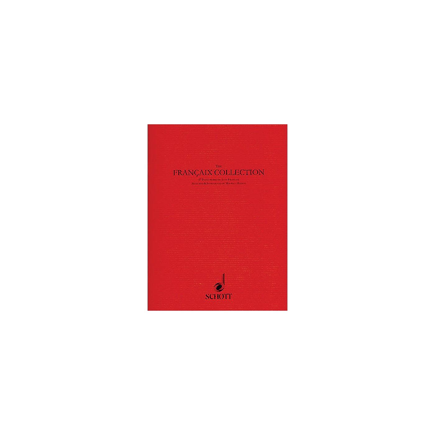 Schott The Françaix Collection (17 Piano Pieces) Schott Series Softcover Composed by Jean Françaix thumbnail