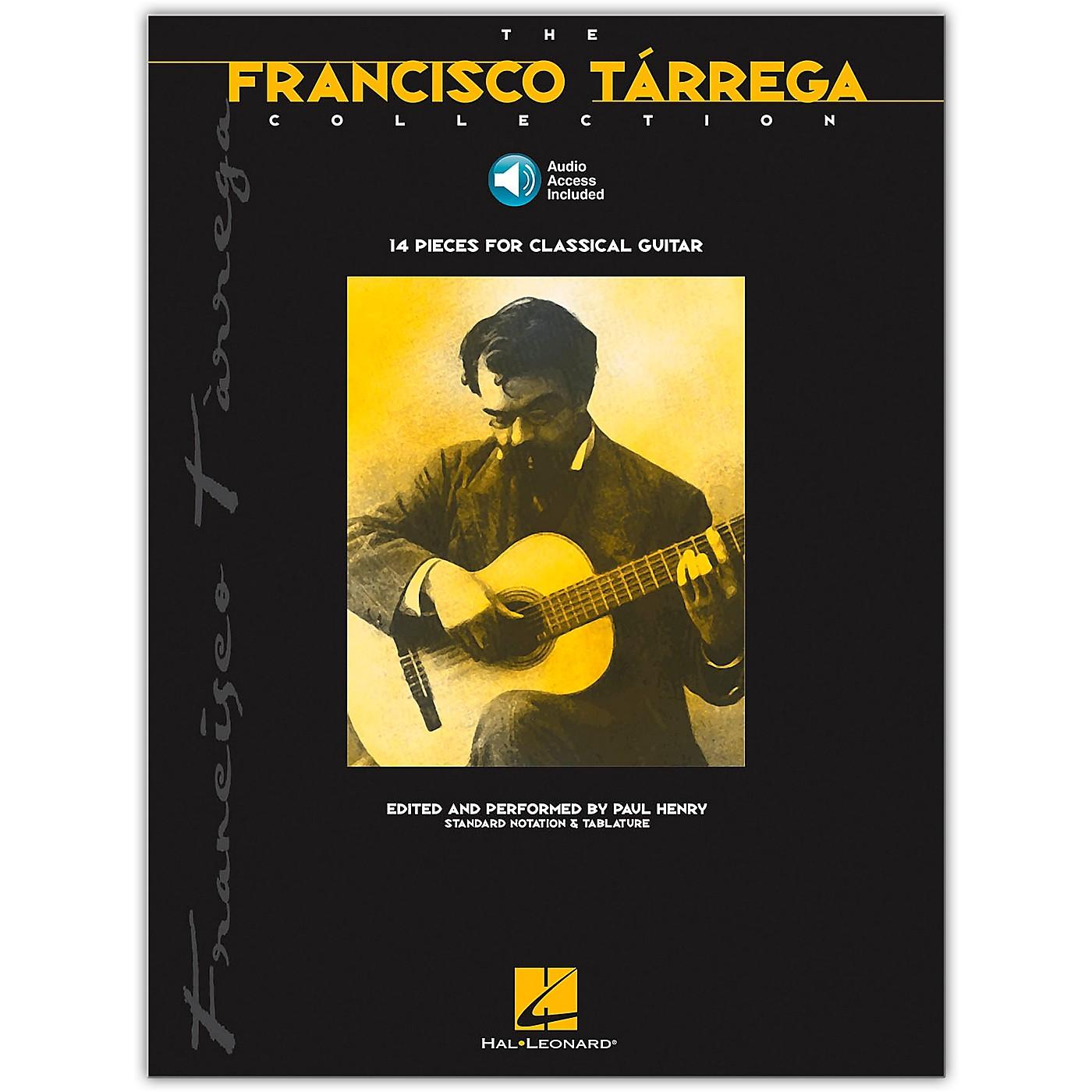 Hal Leonard The Francisco Tarrega Collection Tab & Notation (Book/Online Audio) thumbnail