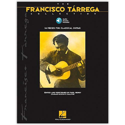 Hal Leonard The Francisco Tarrega Collection Tab & Notation (Book/Online Audio) thumbnail