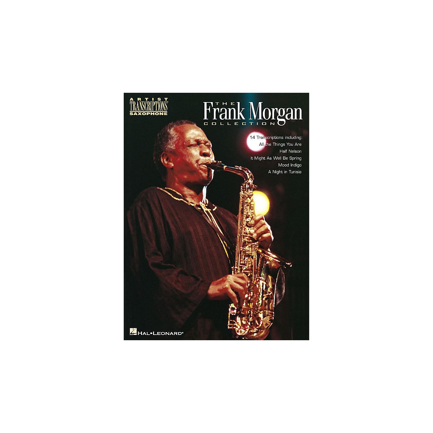 Hal Leonard The Frank Morgan Collection Artist Transcriptions Series Performed by Frank Morgan thumbnail