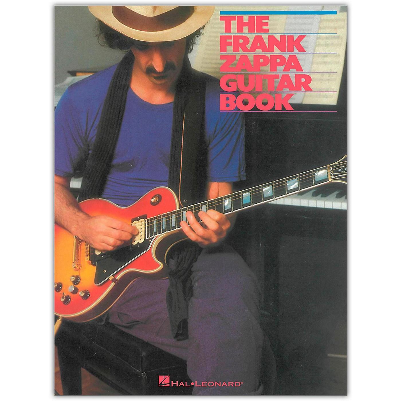 Hal Leonard The Frank Zappa Guitar Book thumbnail