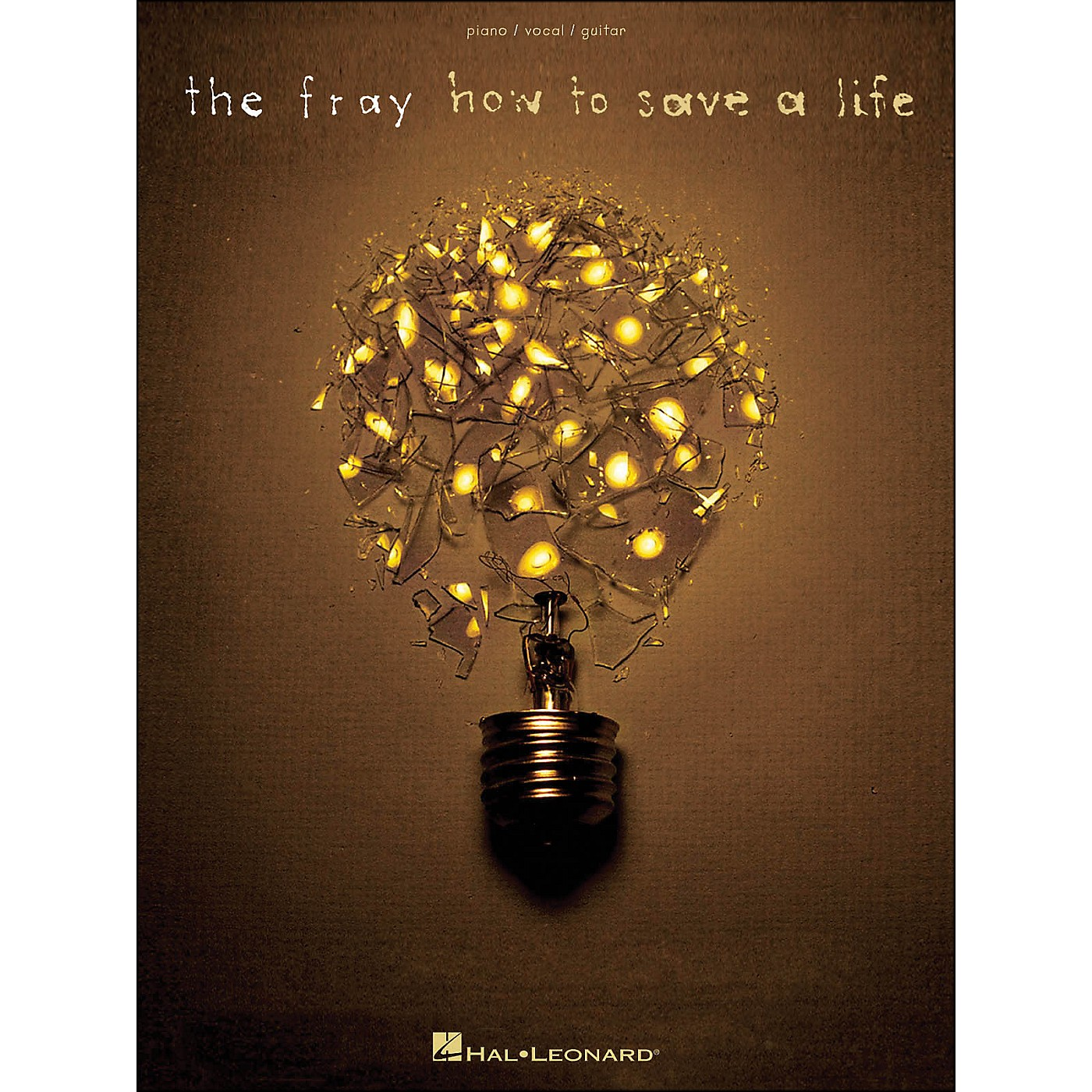 Hal Leonard The Fray How To Save A Life arranged for piano, vocal, and guitar (P/V/G) thumbnail