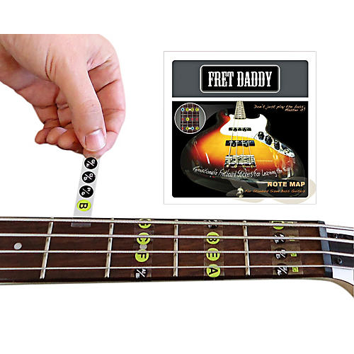 Fret Daddy The Fretboard Note Map for Bass Guitar thumbnail