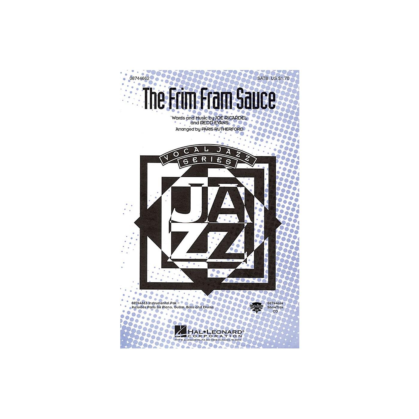 Hal Leonard The Frim Fram Sauce SATB arranged by Paris Rutherford thumbnail