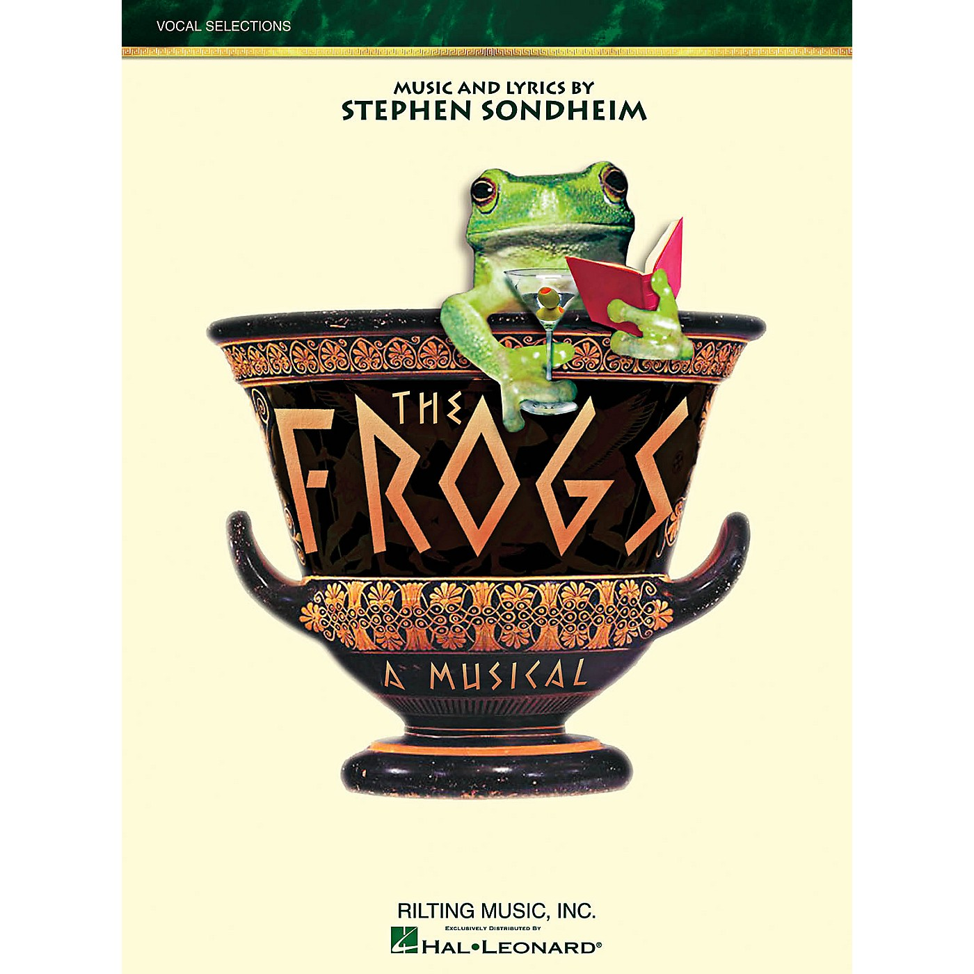 Hal Leonard The Frogs - Vocal Selections thumbnail