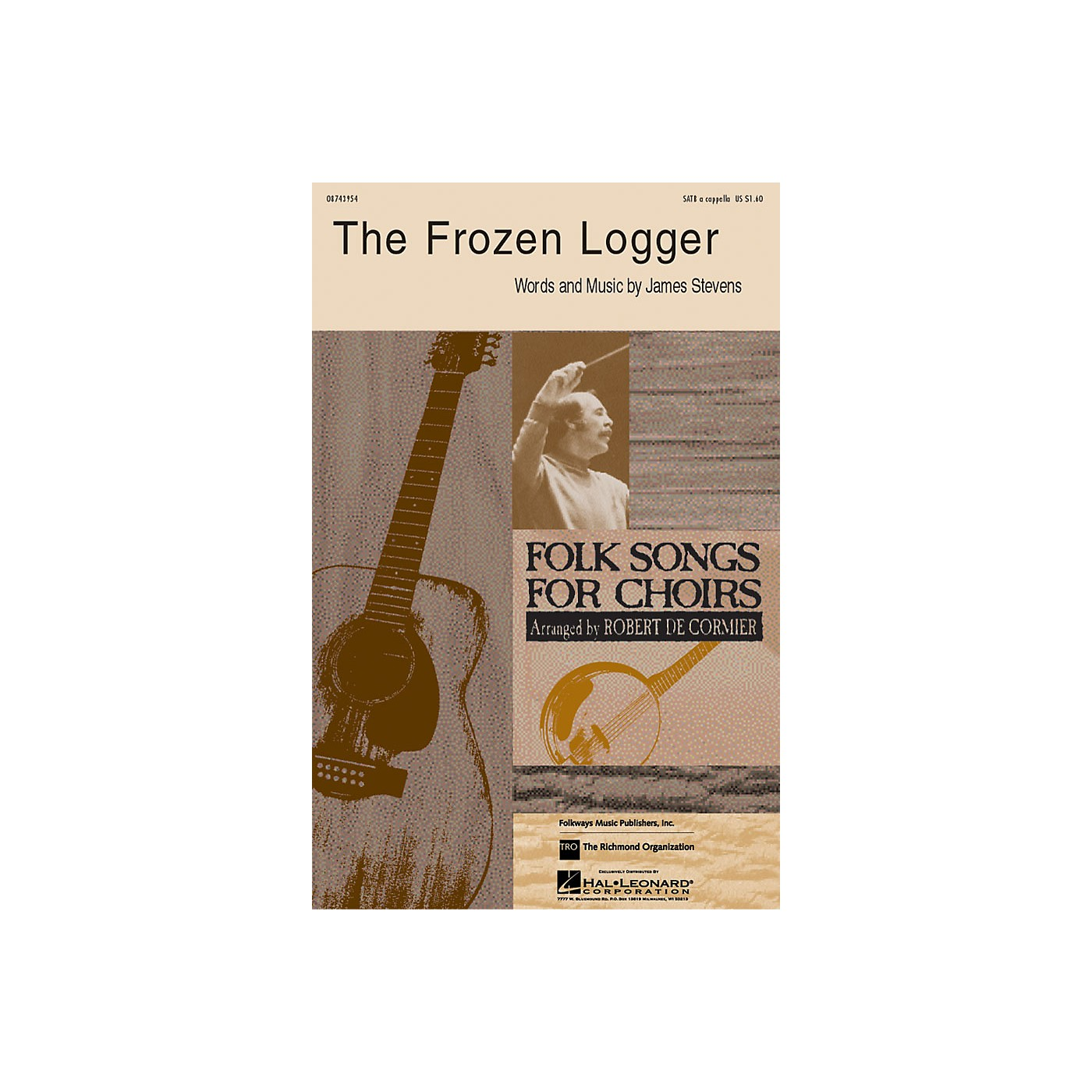 Hal Leonard The Frozen Logger SATB arranged by Robert DeCormier thumbnail