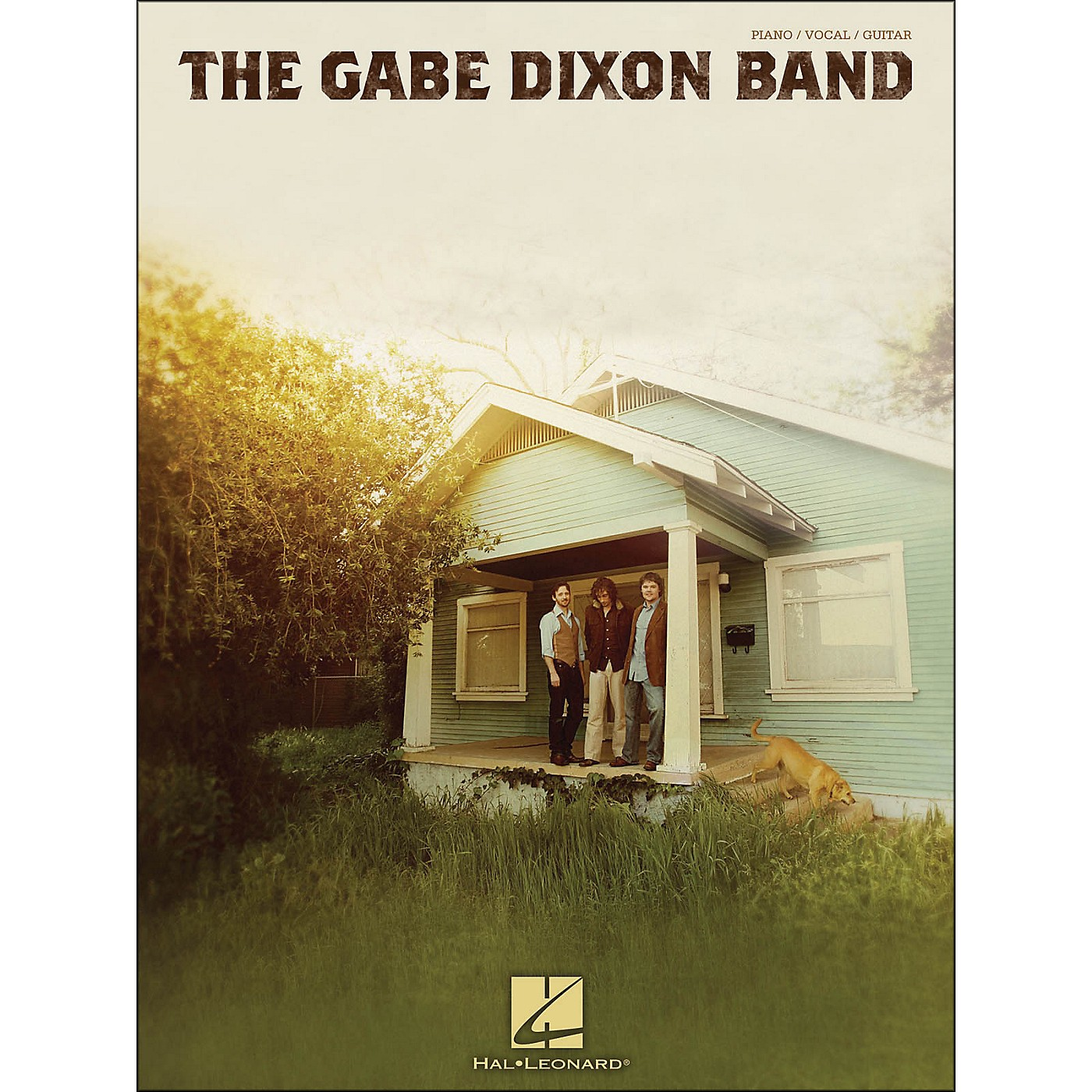 Hal Leonard The Gabe Dixon Band arranged for piano, vocal, and guitar (P/V/G) thumbnail