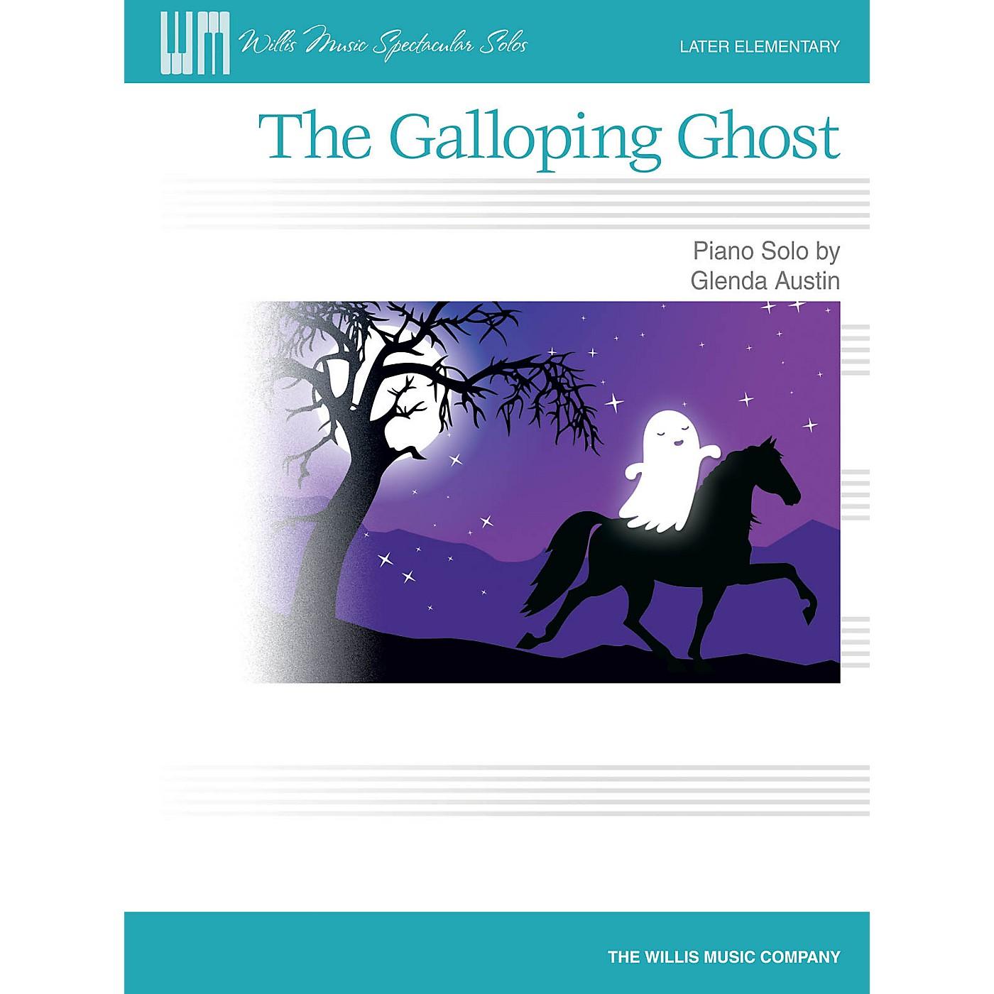Willis Music The Galloping Ghost (Later Elem Level) Willis Series by Glenda Austin thumbnail