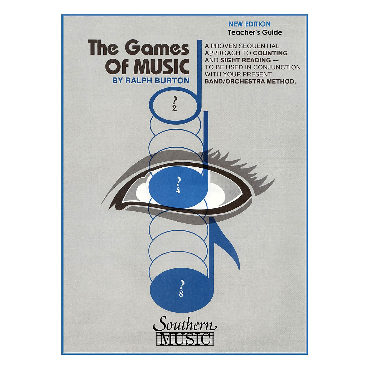 Southern The Games of Music - Teacher's Guide (Band/Band Methods) Southern Music Series by Ralph Burton thumbnail
