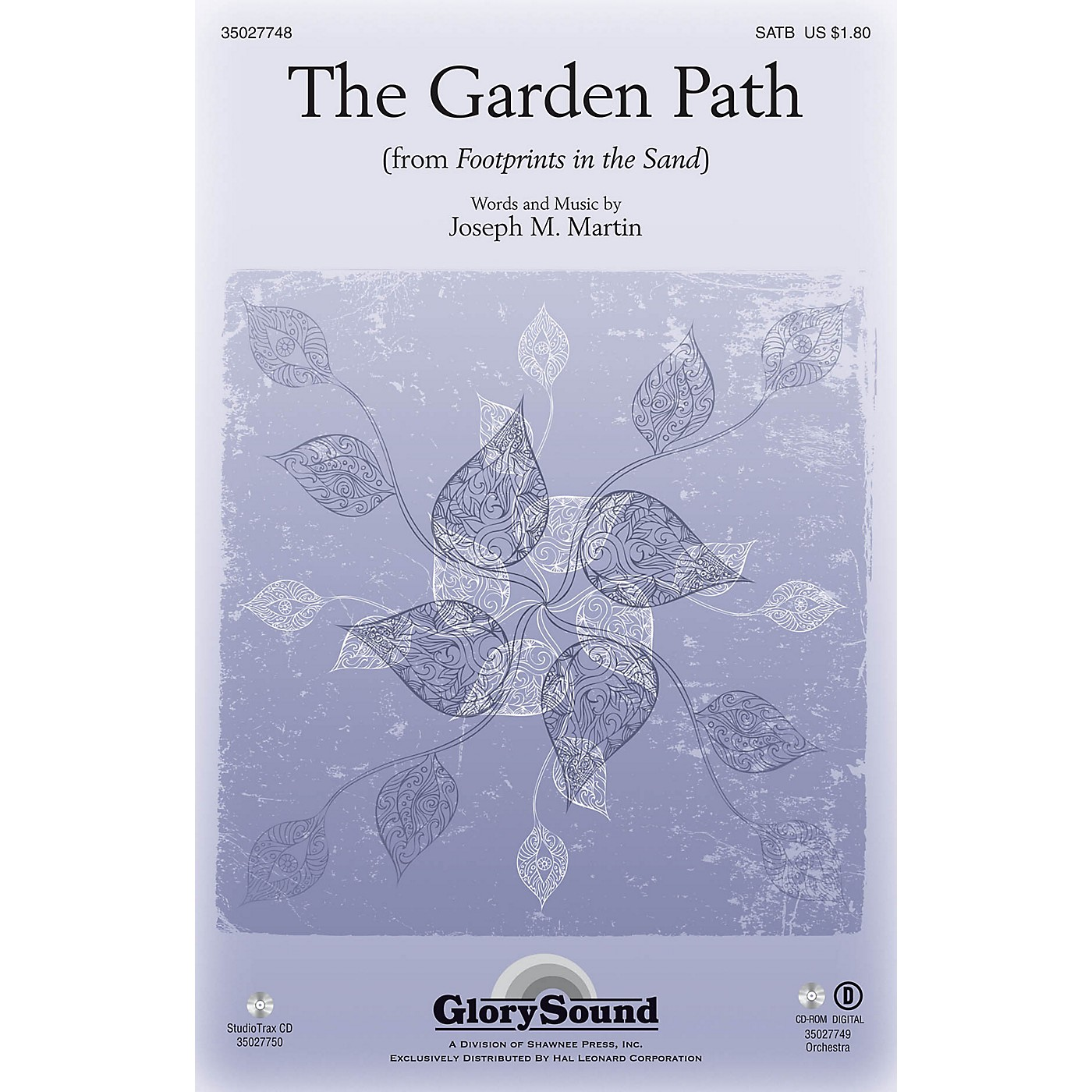 Shawnee Press The Garden Path (from Footprints in the Sand) ORCHESTRATION ON CD-ROM Composed by Joseph M. Martin thumbnail