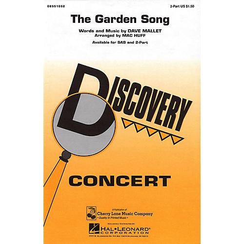 Cherry Lane The Garden Song 2-Part arranged by Mac Huff thumbnail