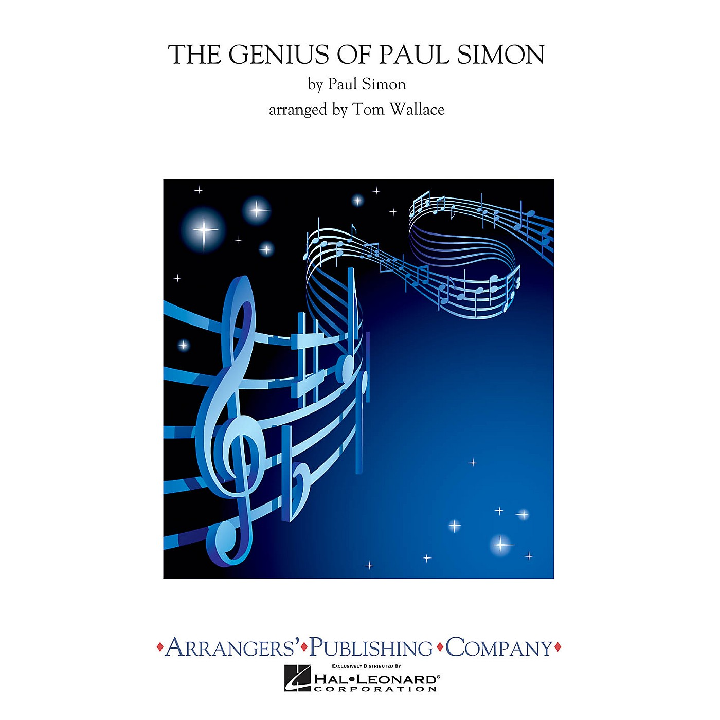 Arrangers The Genius of Paul Simon (Full Score) Concert Band Arranged by Tom Wallace thumbnail