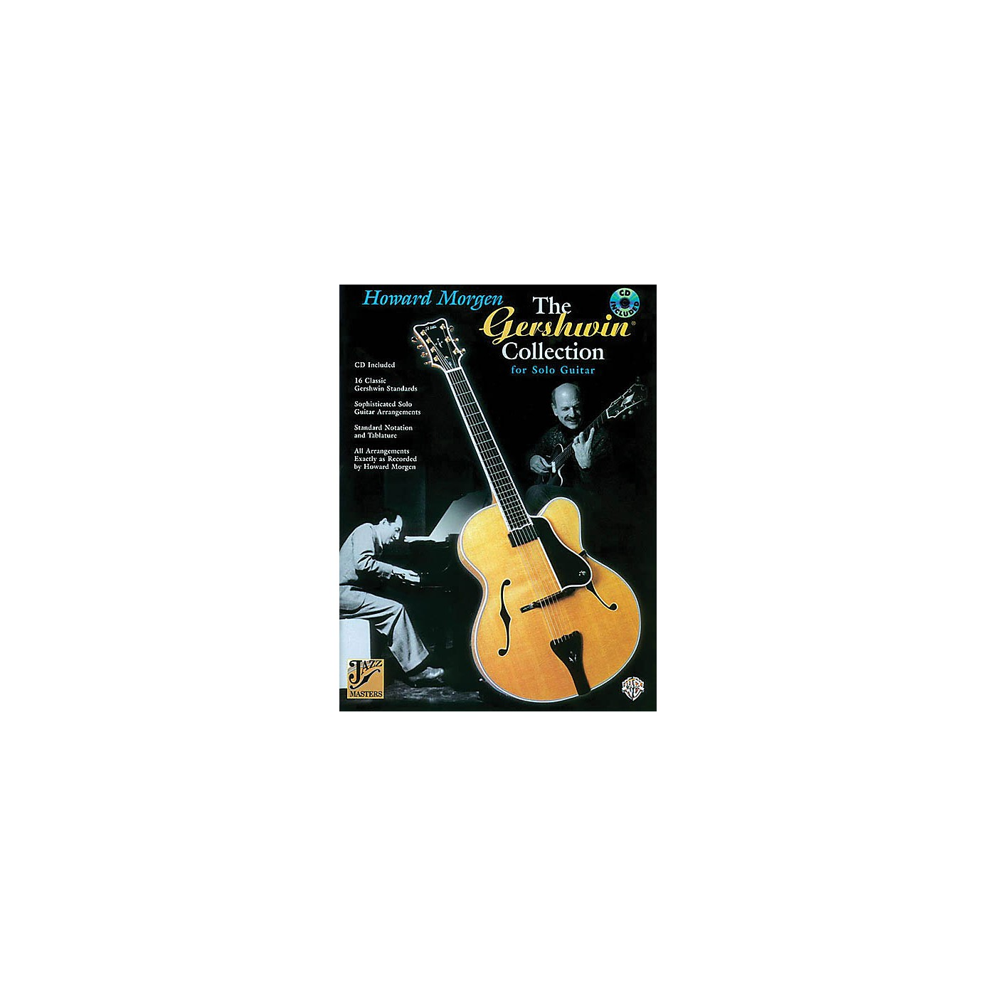 Alfred The Gershwin Collection for Solo Guitar (Jazz Masters Series) Guitar Book Series Softcover with CD thumbnail