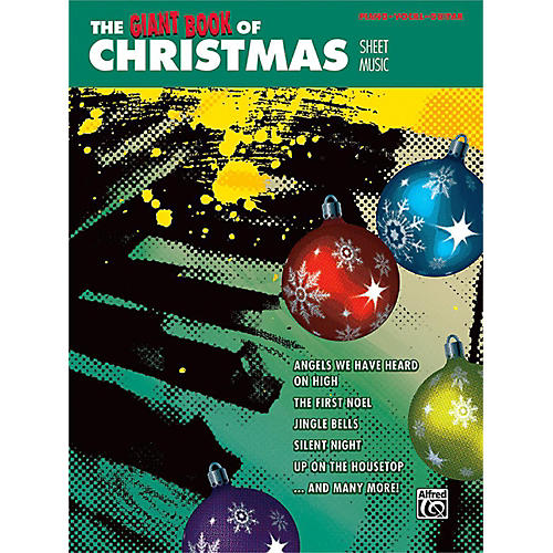 Alfred The Giant Book of Christmas Sheet Music Piano/Vocal/Guitar thumbnail