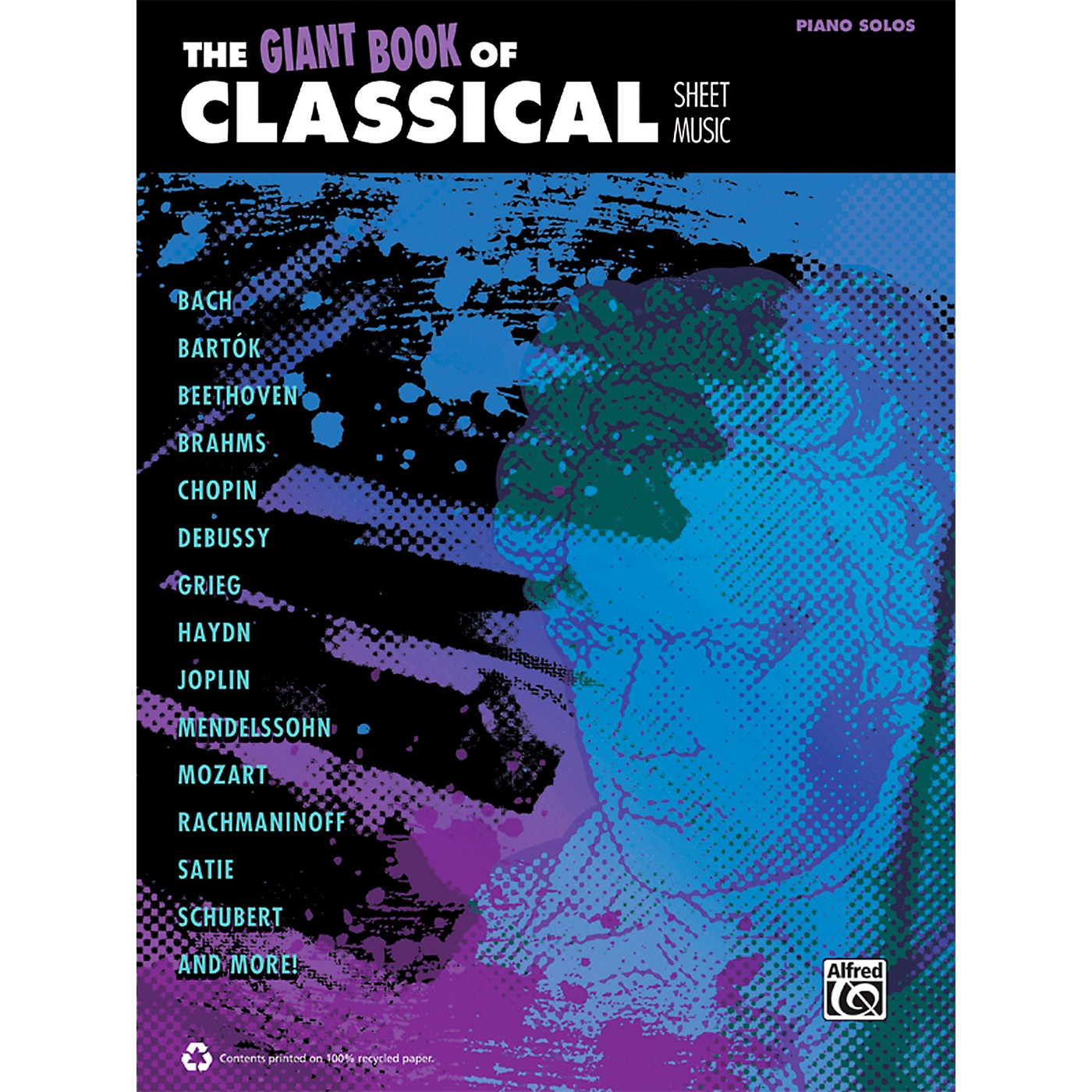 Alfred The Giant Book of Classical Sheet Music Piano Book thumbnail