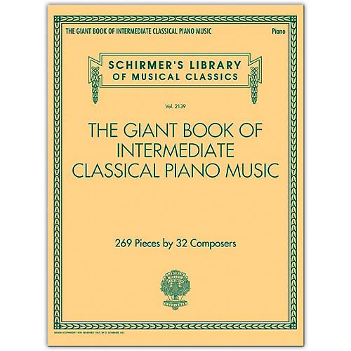 G. Schirmer The Giant Book of Intermediate Classical Piano Music thumbnail