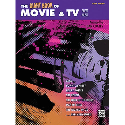 Alfred The Giant Book of Movie & TV Sheet Music Easy Piano Book thumbnail