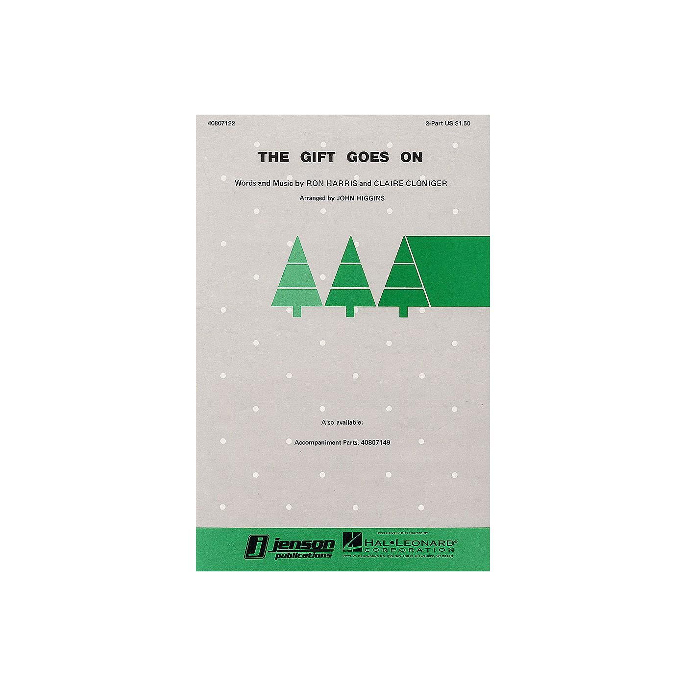 Hal Leonard The Gift Goes On 2-Part arranged by John Higgins thumbnail