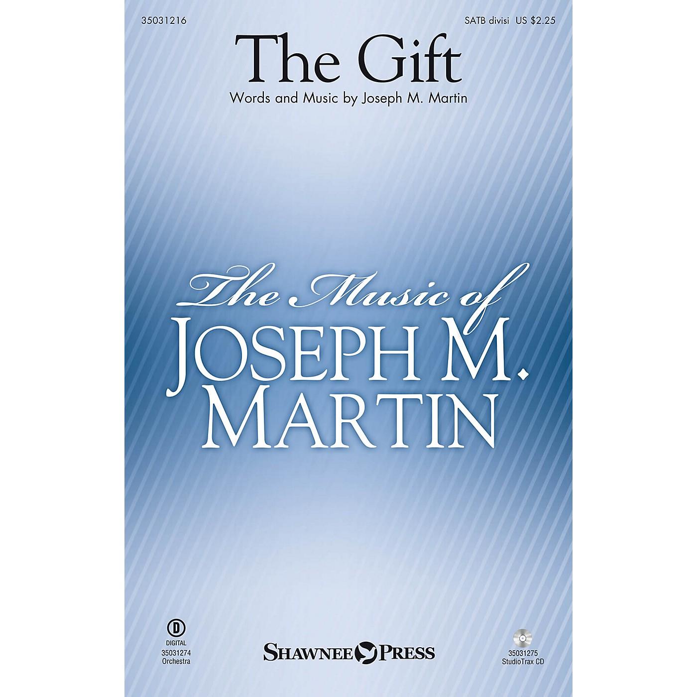 Shawnee Press The Gift SATB Divisi composed by Joseph M. Martin thumbnail