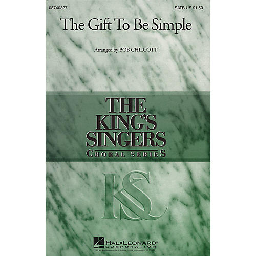 Hal Leonard The Gift to Be Simple SSAA by The King's Singers Arranged by Bob Chilcott thumbnail