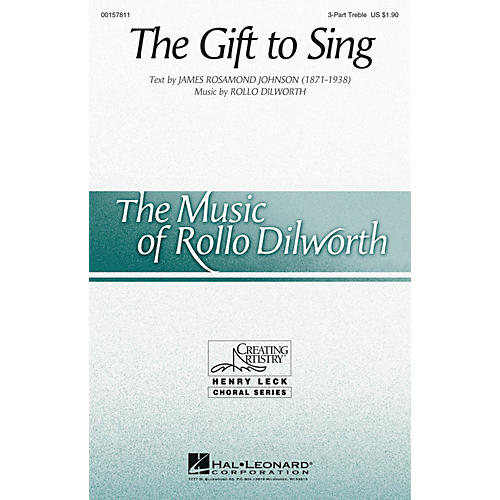 Hal Leonard The Gift to Sing 3 Part Treble composed by Rollo Dilworth thumbnail