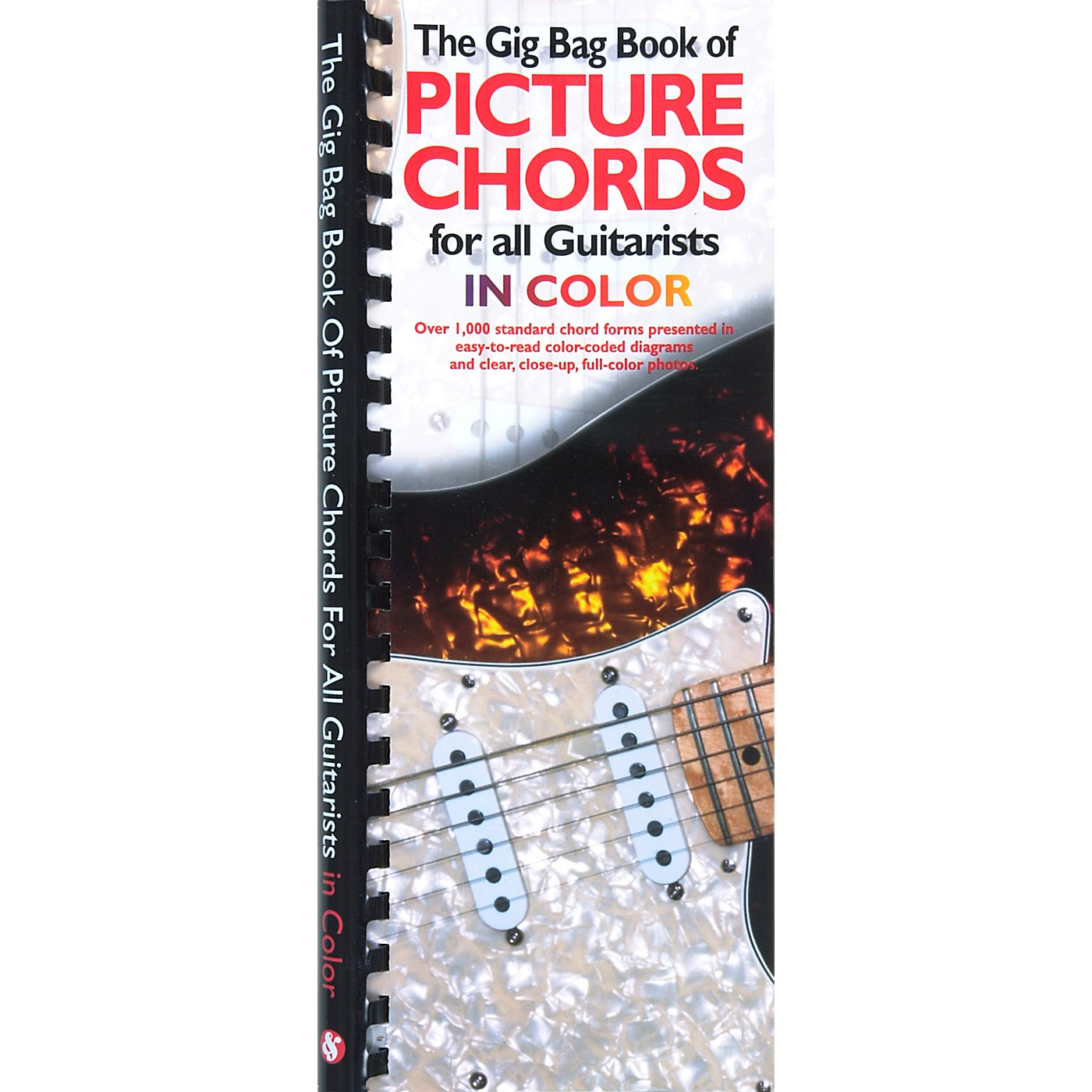 Amsco The Gig Bag Book of Picture Chords for all Guitarists in Color Book thumbnail