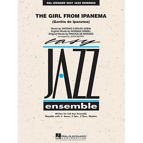 Hal Leonard The Girl from Ipanema Jazz Band Level 2 Arranged by John Berry thumbnail