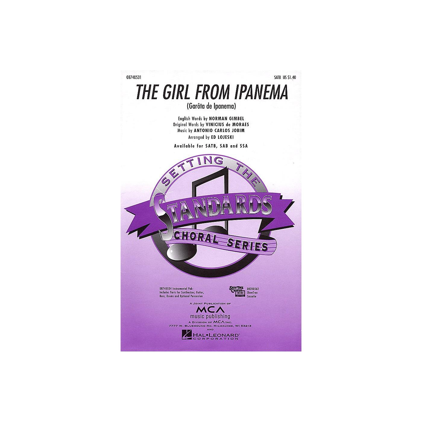 Hal Leonard The Girl from Ipanema SSA Arranged by Ed Lojeski thumbnail