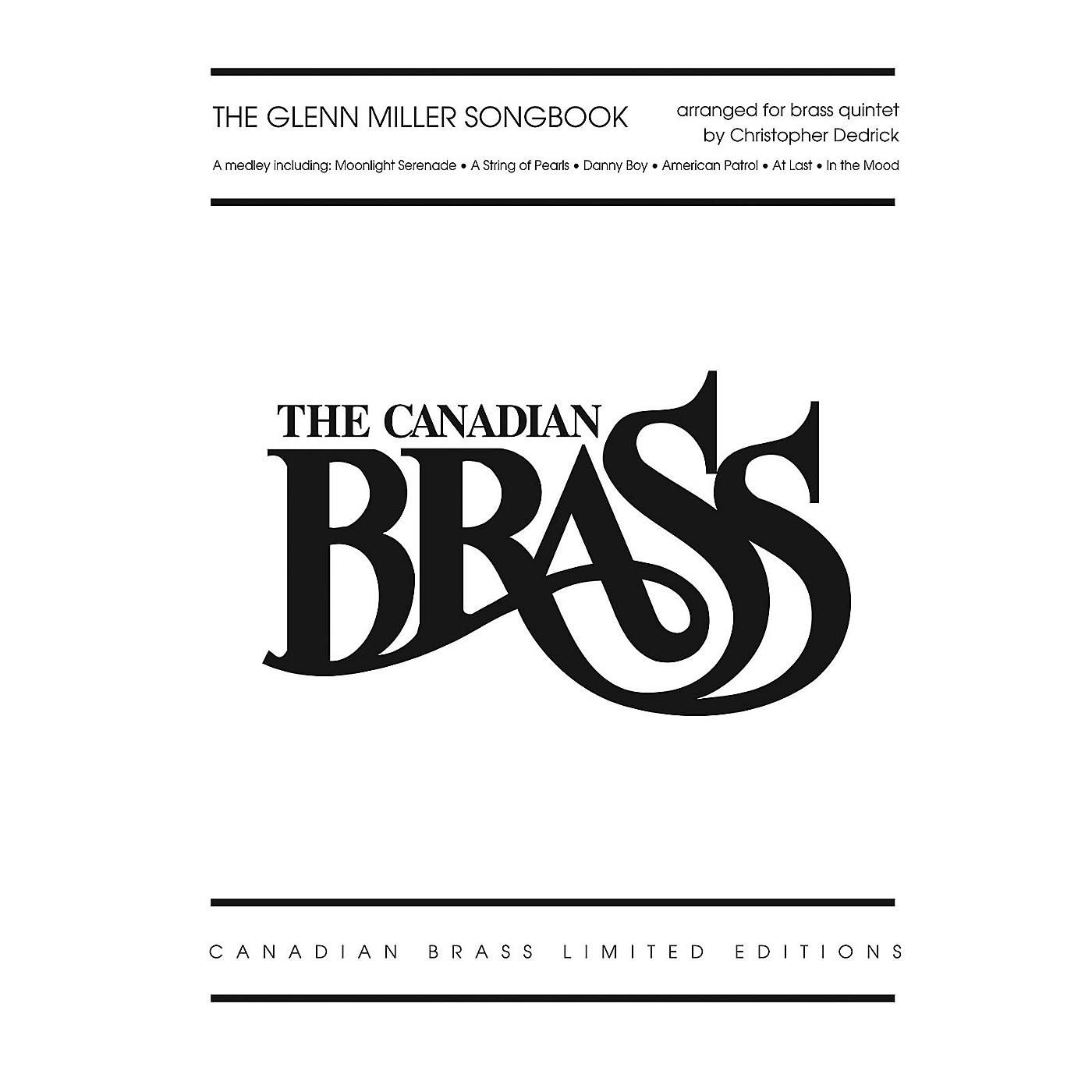 Hal Leonard The Glenn Miller Songbook Brass Ensemble Series by The Canadian Brass thumbnail