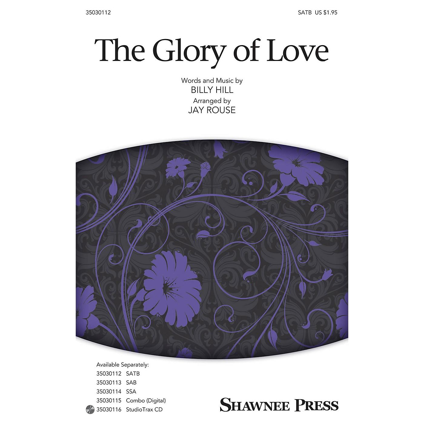 Shawnee Press The Glory of Love Studiotrax CD Arranged by Jay Rouse thumbnail