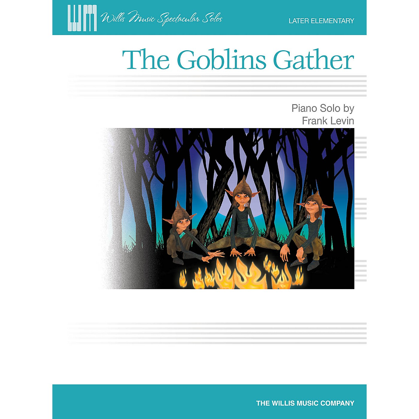 Willis Music The Goblins Gather (Later Elem Level) Willis Series by Frank Levin thumbnail