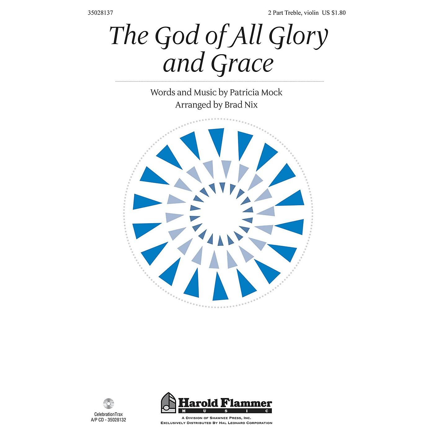 Shawnee Press The God of All Glory and Grace 2PT TREBLE arranged by Brad Nix thumbnail