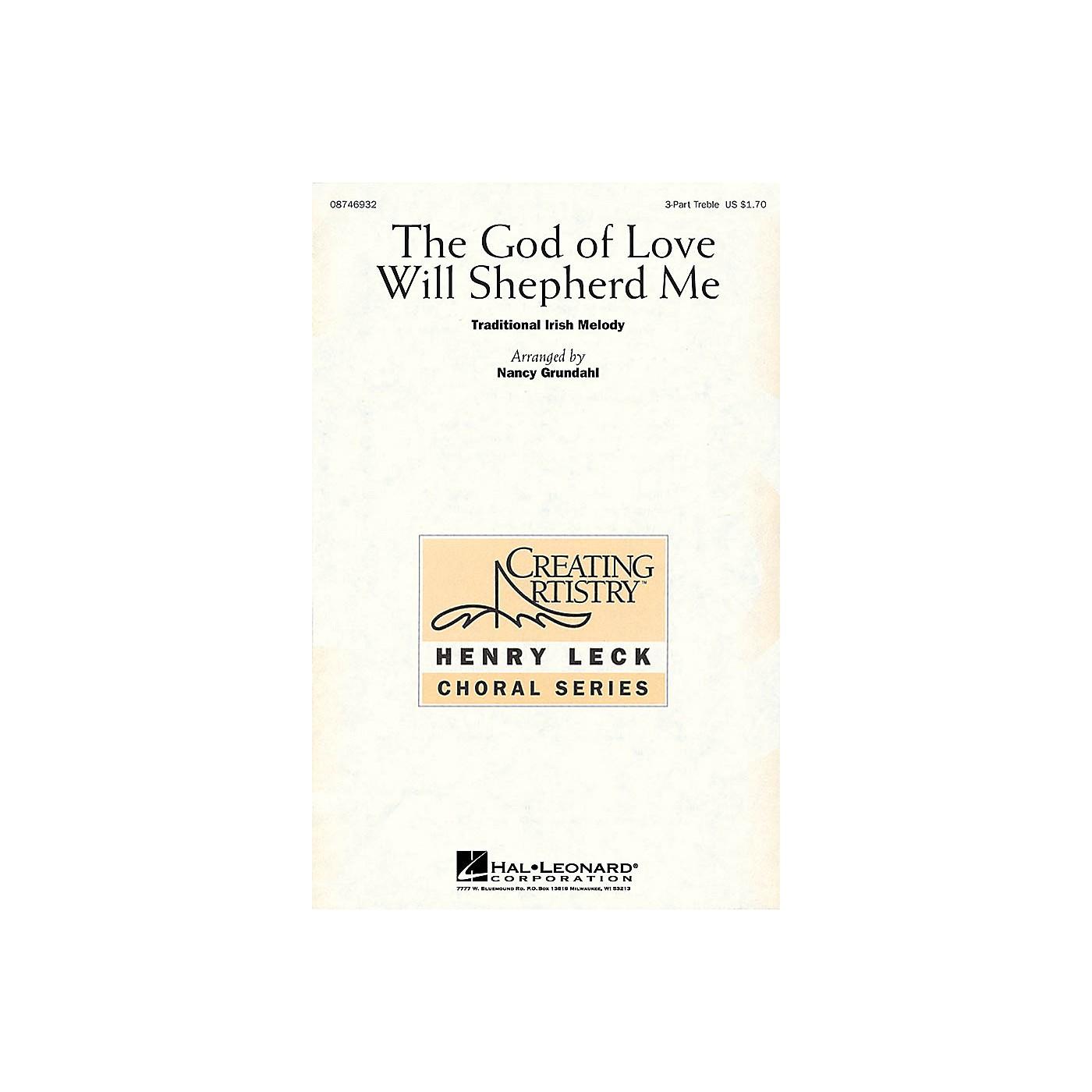 Hal Leonard The God of Love Will Shepherd Me 3 Part Treble arranged by Nancy Grundahl thumbnail