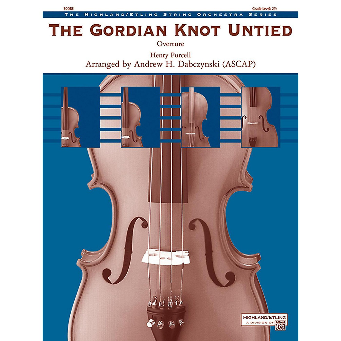 Alfred The Gordian Knot Untied String Orchestra Grade 2.5 thumbnail