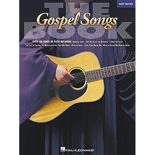 Hal Leonard The Gospel Songs Easy Guitar Songbook thumbnail
