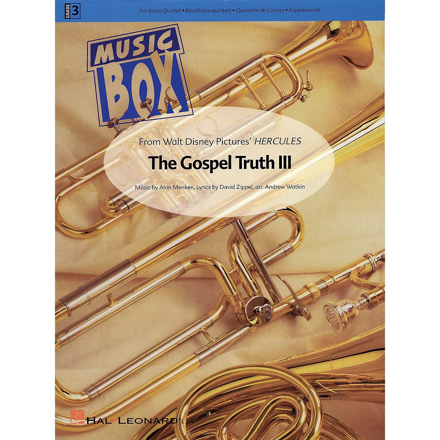Hal Leonard The Gospel Truth III (from Hercules) De Haske Ensemble Series Arranged by Andrew Watkin thumbnail