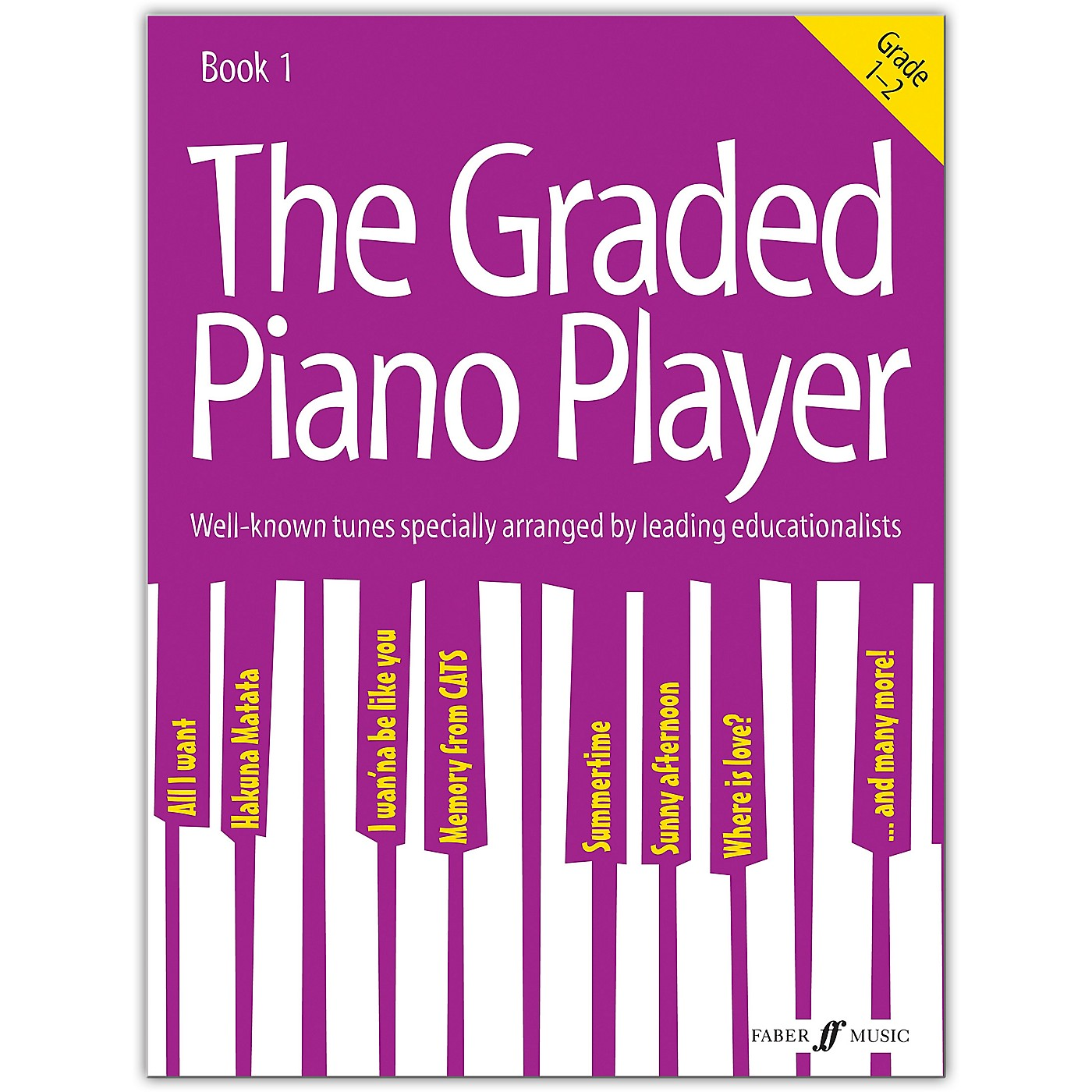Faber Music LTD The Graded Piano Player, Book 1 (Grades 1--2) thumbnail