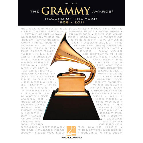 Hal Leonard The Grammy Awards Record of the Year 1958-2011 Ukulele Series Softcover Performed by Various thumbnail