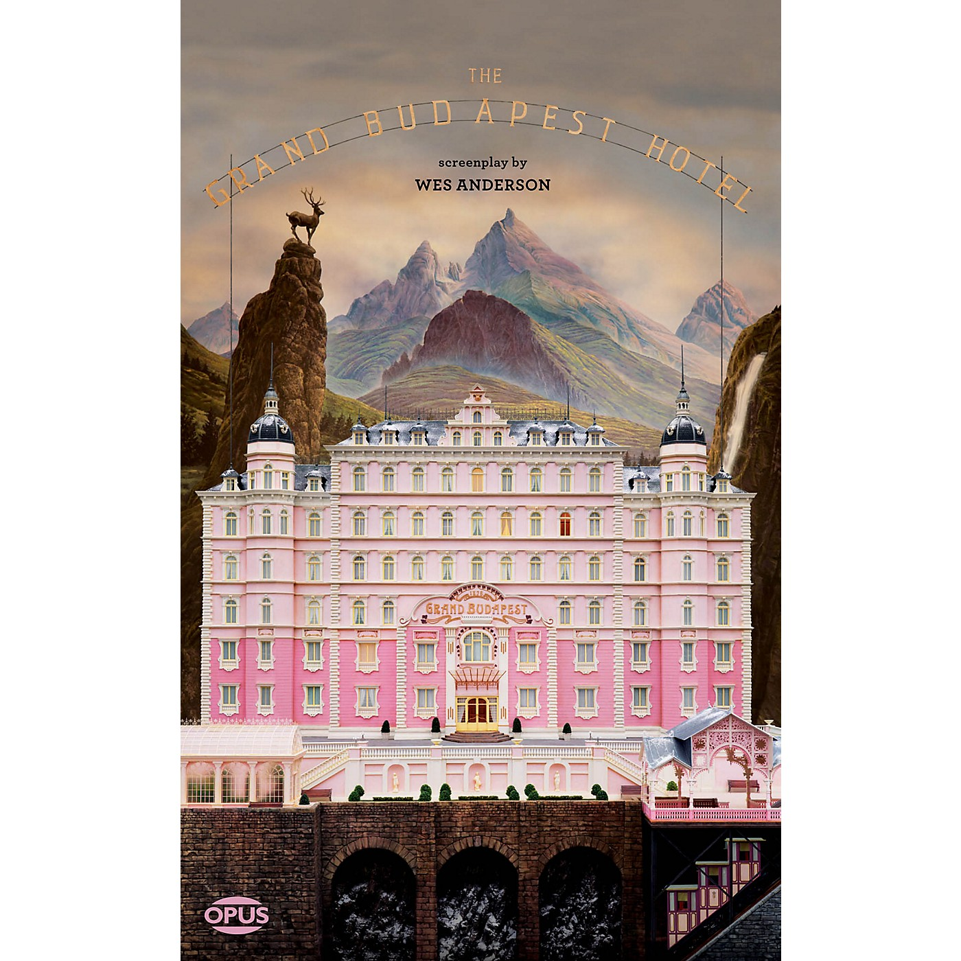 Opus The Grand Budapest Hotel (The Illustrated Screenplay) Book Series Softcover Written by Wes Anderson thumbnail