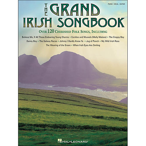 Hal Leonard The Grand Irish Songbook arranged for piano, vocal, and guitar (P/V/G) thumbnail