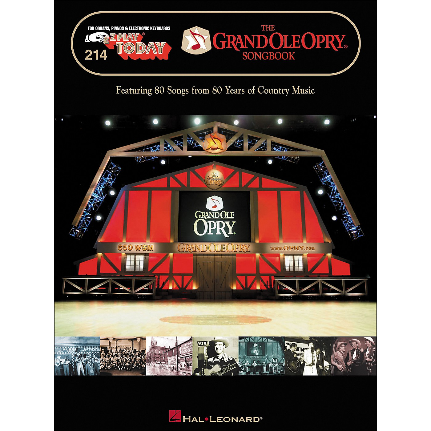 Hal Leonard The Grand Ole Opry Songbook E-Z Play 214 thumbnail