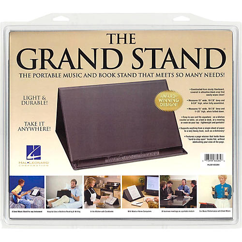 Hal Leonard The Grand Stand Portable Music and Book Stand thumbnail