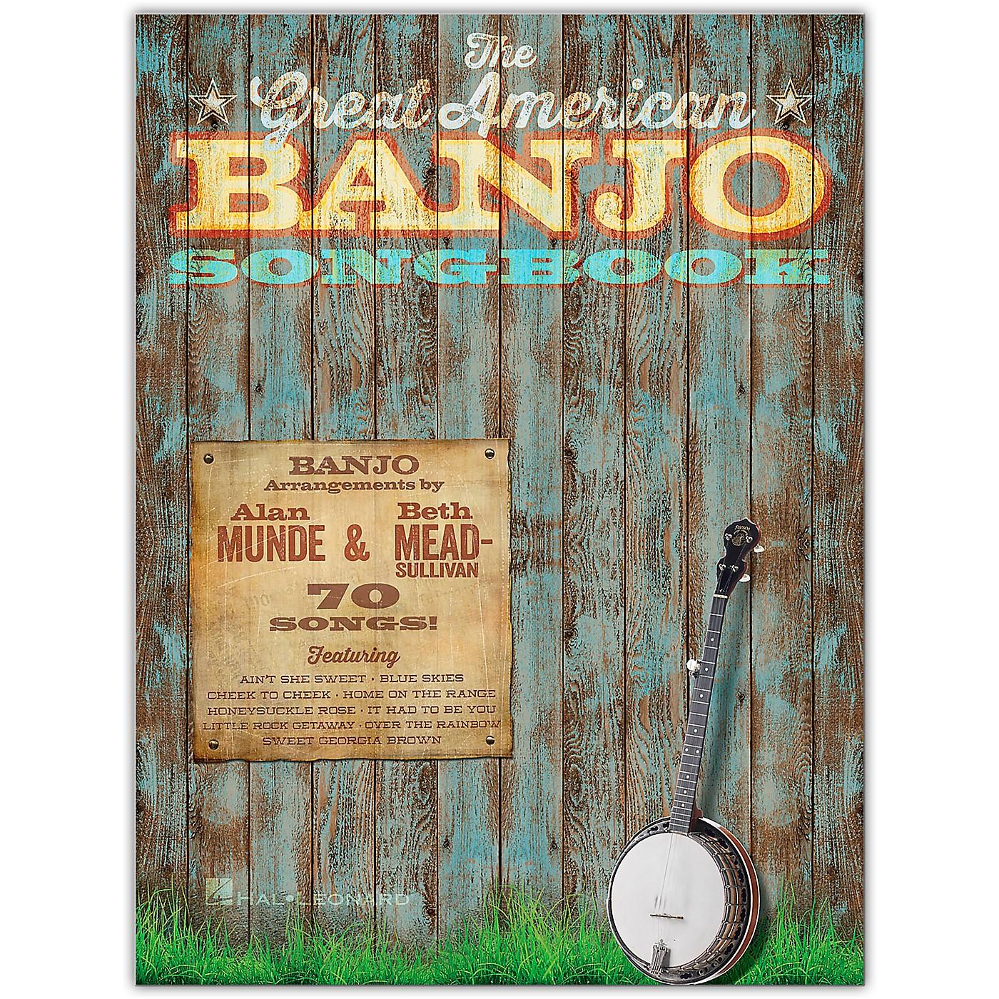Hal Leonard The Great American Banjo Songbook thumbnail