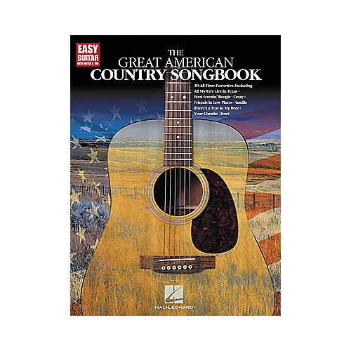 Hal Leonard The Great American Country Easy Guitar Tab Book thumbnail