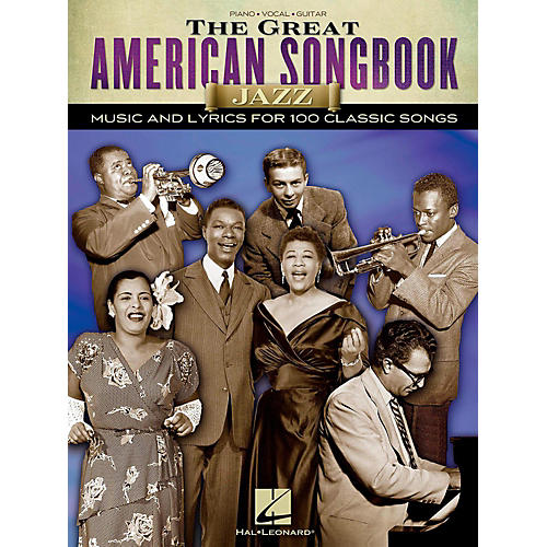 Hal Leonard The Great American Songbook - Jazz for Piano/Vocal/Guitar Songbook thumbnail