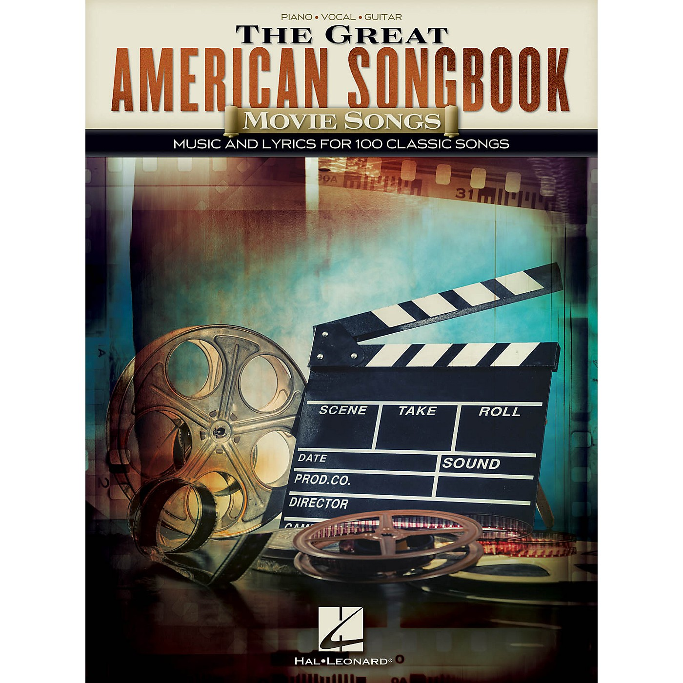 Hal Leonard The Great American Songbook - Movie Songs Piano/Vocal/Guitar Songbook thumbnail