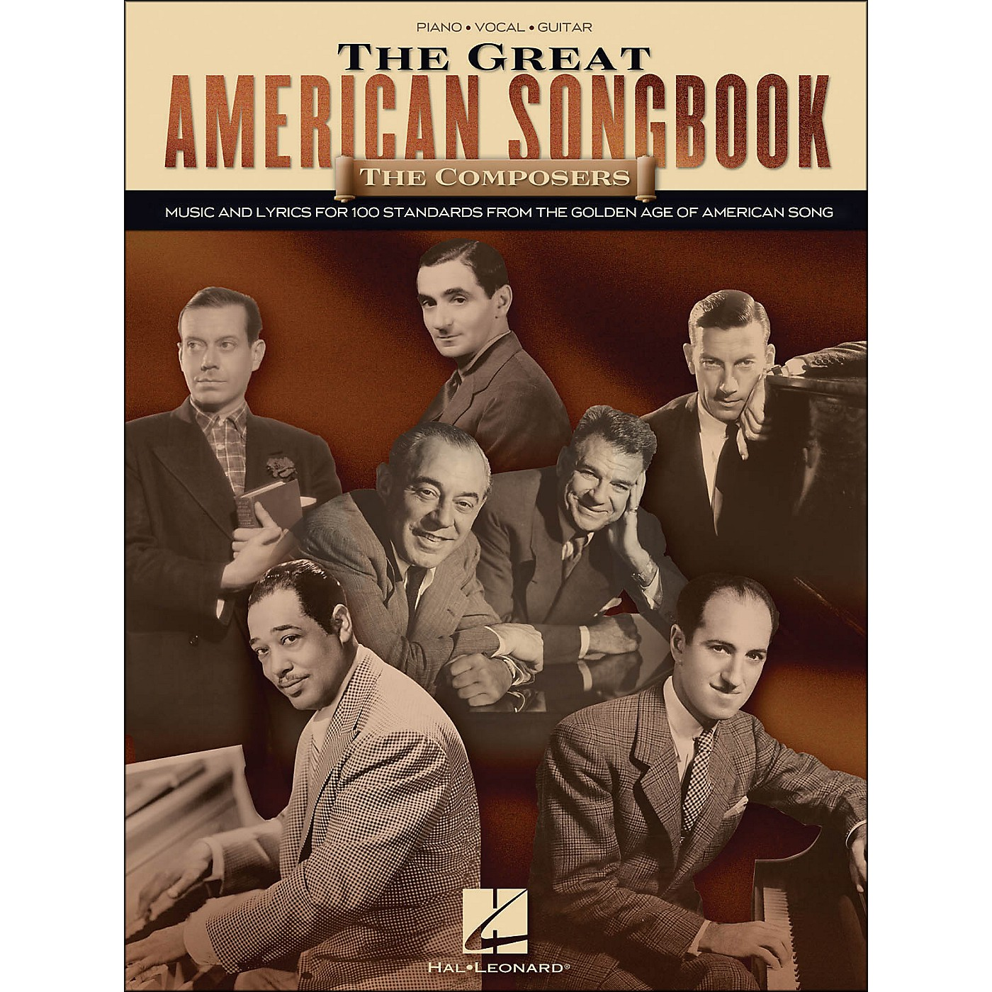 Hal Leonard The Great American Songbook - The Composers arranged for piano, vocal, and guitar (P/V/G) thumbnail