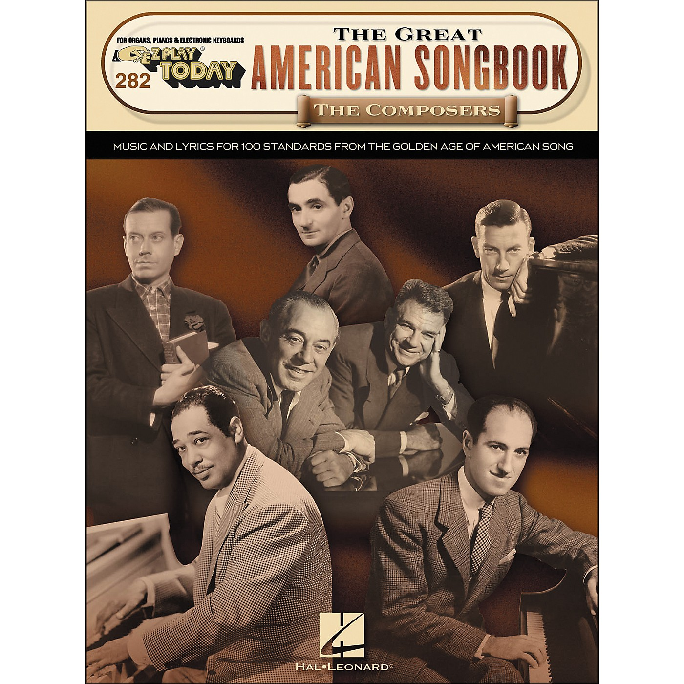 Hal Leonard The Great American Songbook The Composers E-Z Play 282 thumbnail